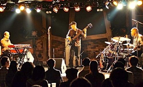 Yonrico Scott Band live Tokyo Japan.