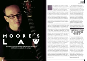 Bass Guitar Magazine interviews Joseph Patrick Moore